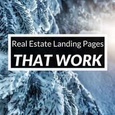 How To Make Real Estate Landing Pages That Really Work [12 Days Of RE Marketing - Day 1] | Easy Agent Pro
