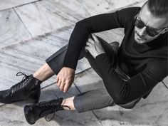 Black is such a happy color! Story Of O, Love Story, Beautiful Stories, Happy Colors, Black Jeans, Stylish, Inspiration, Fashion, Biblical Inspiration