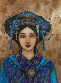 Le sacre divin Art Geisha, Geisha Kunst, Girl Face Drawing, Face Art, Art Rupestre, L'art Du Portrait, Art Visage, Figurative Kunst, Blood Art
