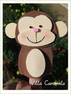 Villa Caramelo: Títeres de Dedos Animales de la Selva Hand Puppets, Finger Puppets, Diy For Kids, Crafts For Kids, Diy Crafts, Crazy Hats, Animal Crafts, Activities For Kids, Minnie Mouse