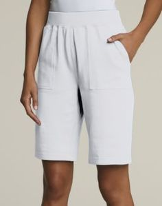 Women's Hanes Signature French Terry Short