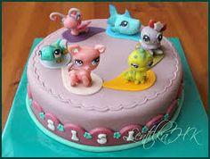 Výsledek obrázku pro dort littlest pet shop