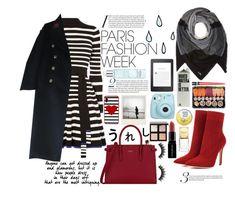 """Paris Fashion Week"" by lottiedottie7435 ❤ liked on Polyvore featuring Karen Millen, Gianvito Rossi, Polaroid, Gucci, Furla, Coach, Kate Spade, Givenchy, Amazon and Fujifilm"