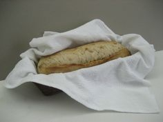 Bread basket liner to show off your home made bread!