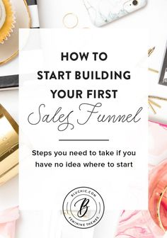 We lay out all of the steps you need to take to build your first sales funnel and all of its essential components. Let's get started!