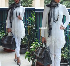 Pinned via Nuriyah O. Martinez | maiekhaled #hijabfashion