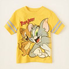 Tom and Jerry graphic tee