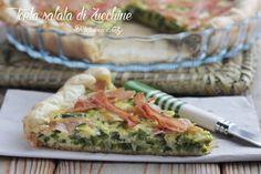 La Torta salata di Zucchine e Prosciutto cotto è facile da preparare, ottima calda, ma buonissima anche da mangiare fredda per un pic nic all'aperto.