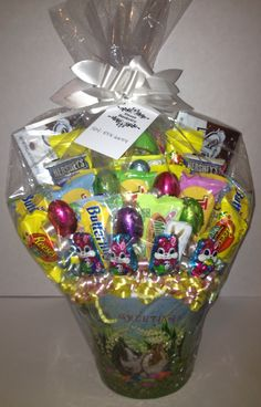 Easter large candy bouquet