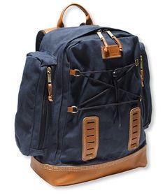 Signature Waxed-Canvas Backpack L.L. Bean