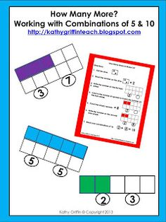 Kathy Griffin's Teaching Strategies: Common Core Math Trains 5 & 10