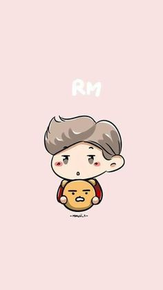 BTS / Rap  Monster / Wallpaper