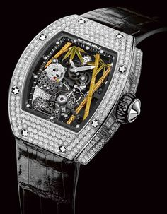 Richard Mille RM 26-01 Panda Richard Mille has just announced a brand new jewelry creation, which is going to be officially unveiled at this year's BaselWorld – RM 26-01 Panda.