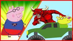 Peppa Pig Español SuperMan Superhero in Real Life Finger family