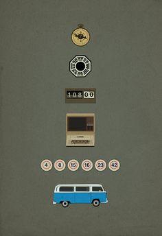 demostración de la tv perdido cartel 8 x 10 11 x 17 por missingtime