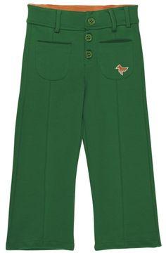 Groen retro broekje - Dis une couleur