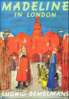 Madeline in London - 10 Children's Books to Inspire Travel