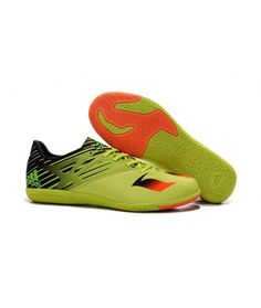 super popular fbd86 8b16e Adidas MESSI 15.3 IN Botas De Fútbol Bright-Amarillo Negro Naranja