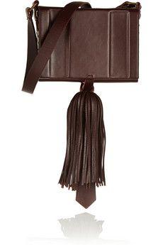 Zeus+Dione Attiki tasseled leather shoulder bag | NET-A-PORTER