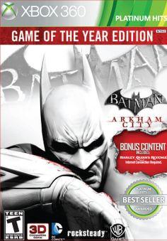 Batman: Arkham City --- http://www.amazon.com/gp/product/B007SRM5MO/ref=as_li_ss_tl?ie=UTF8&camp=1789&creative=390957&creativeASIN=B007SRM5MO&linkCode=as2&tag=420life-20