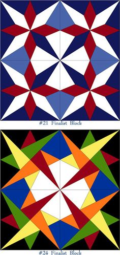 """Today is a happy day - I just found out I made the """"Top 100 Finalists"""" in the AccuQuilt Barn Quilt Design Contest!so, friends and follo. Barn Quilt Designs, Barn Quilt Patterns, Quilting Designs, Star Quilt Blocks, Star Quilts, Scrappy Quilts, Zentangle, Blackwork, Painted Barn Quilts"""