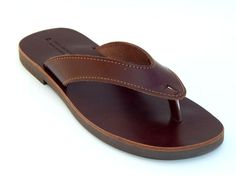 men leather sandals by babisg on Etsy