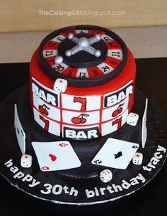 Casino Cake by TheCakingGirl, via Flickr