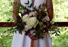 Garden Style Wedding Bouquet   Gatherings by Caroline Quinn - Lake Lure, North Carolina