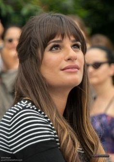 Photos from the NYC set of Glee Season 4 featuring Lea Michele.