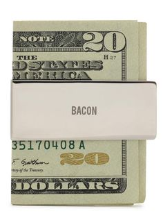Bacon Money Clip