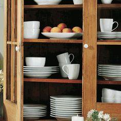 whiteware dinnerware....