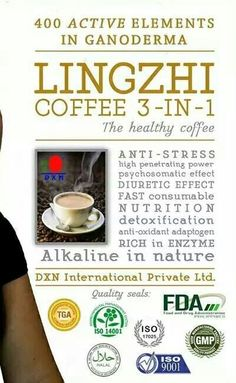 DXN Lingzhi Healthy Coffee - The Healthy Coffee.