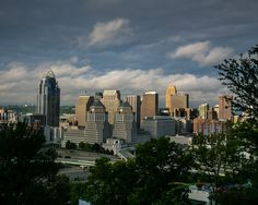 A personal favorite from my Etsy shop https://www.etsy.com/listing/258781693/cincinnati-cityscape-free-shipping-in