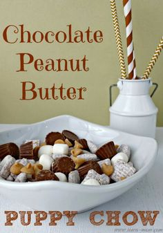 Peanut Butter Cup Puppy Chow Recipe
