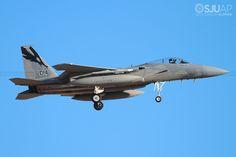 https://flic.kr/p/PFNaFX   84-0014   McDonnell Douglas F-15C Eagle USAF Nellis AFB, NV.
