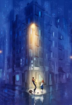 On the corner on B and Vine. by PascalCampion.deviantart.com on @deviantART