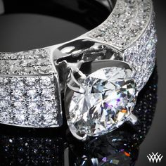 """""""Saturo"""" Diamond Engagement Ring Pure glamour awaits with the """"Saturo"""" Diamond Engagement Ring. The beautiful multi-row design holds 156 Round Brilliant Diamond Melee and the gentle 4 prong head ensures that your diamond will always be secure."""