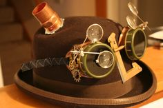 Steampunk Luigi Goggles by ArcaneSpectre.deviantart.com on @deviantART