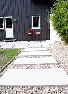 Fin bruk av betongheller...