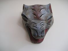 Wolf mask, State of Guerrero, MX