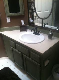 Annie Sloan Chalk Paint Bathroom Cabinet Makeover | Painted bathroom  cabinets, Paint bathroom and Bathroom cabinets
