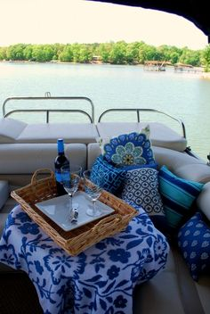 Pontoon Picnic House is Where in fact the Boat Is Boot Dekor, Pontoon Party, Pontoon Boat Accessories, Boating Accessories, Party Barge, Outdoor Speakers, Cool Boats, Boat Stuff, Sailing
