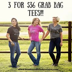 Some Old, Some New, Some ExclusiveWe know how much you love Southern Mess Graphic Tees. Crazy soft and the surprise is half the fun!Snag a deal and be sure to snap a pick and show us how you style yours!We know how much you love our graphic te. Holiday Fashion, Autumn Fashion, Badass Style, Travel Must Haves, Grab Bags, Funny Tees, Summer Tops, Graphic Tees, Southern