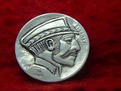 1929 P Hobo Nickel The Captainnship 443 | eBay