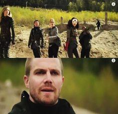 Laurel, Malcolm, Felicity, Katana, Diggle & AlSah-Him #Arrow #ThisIsYourSword