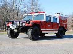1994 Hummer Brush Truck. Belongs to Kendall Park Volunteer Fire Company in Kendall Park, New Jersey.