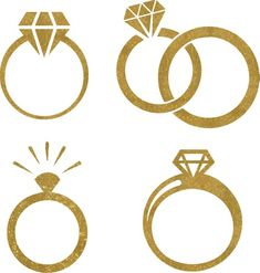 Wedding Logo Design, Wedding Logos, Wedding Cards, Wedding Rings, Ring Icon, Engagement Mehndi Designs, Ring Logo, Flower Graphic Design, Flower Background Wallpaper