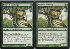 2 Treefolk Harbinger Lorwyn MTG Magic The Gathering Green Uncommon