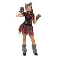 Wick'd Wolfie Child Costume