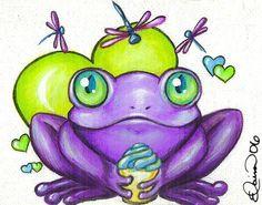 Google Image Result for http://www.ebsqart.com/Art/Froggies/Acrylic-on-Canvas/267695/650/650/A-Sweet-Treat.jpg